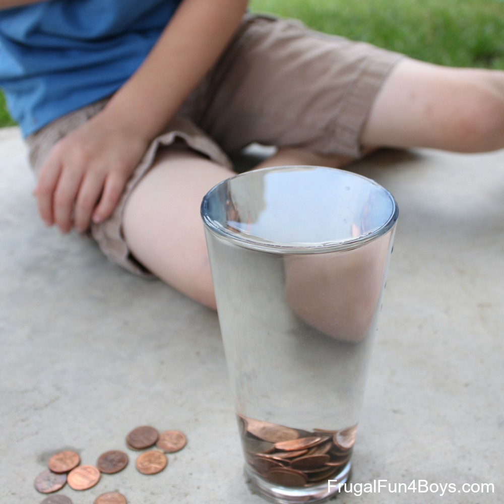 Tricks to do with a Penny