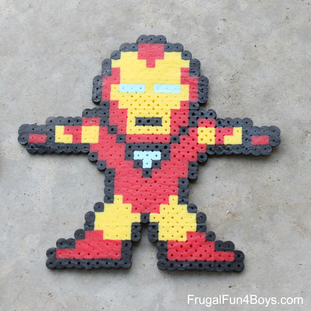 Avengers Perler Bead Patterns