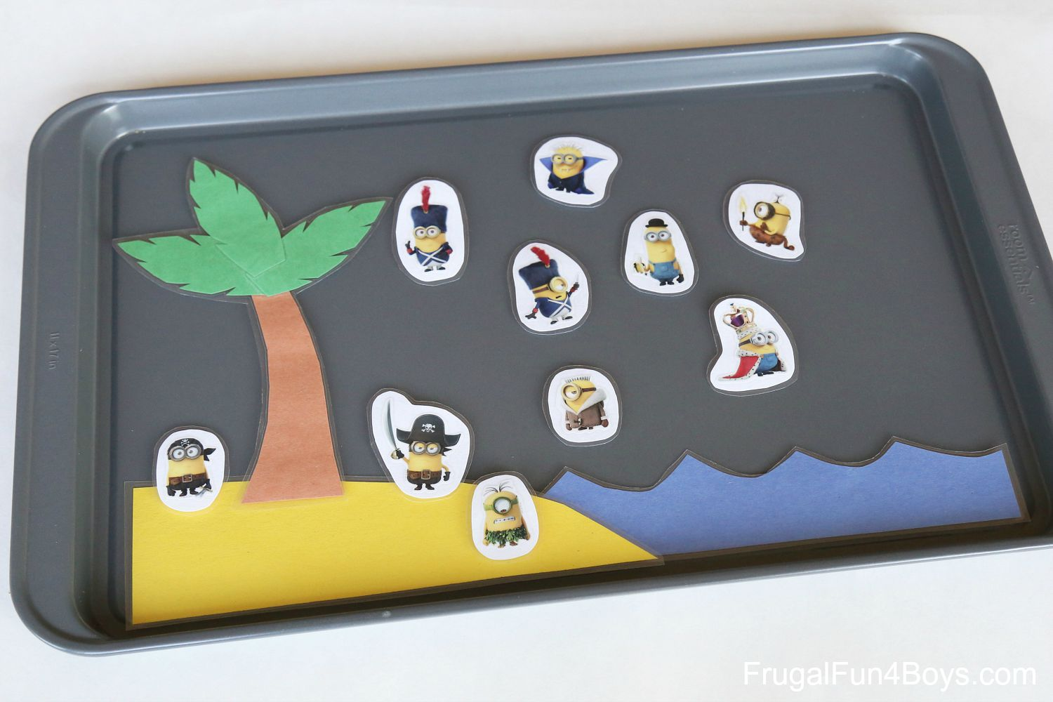 Magnetic Cookie Sheet Games and Activities