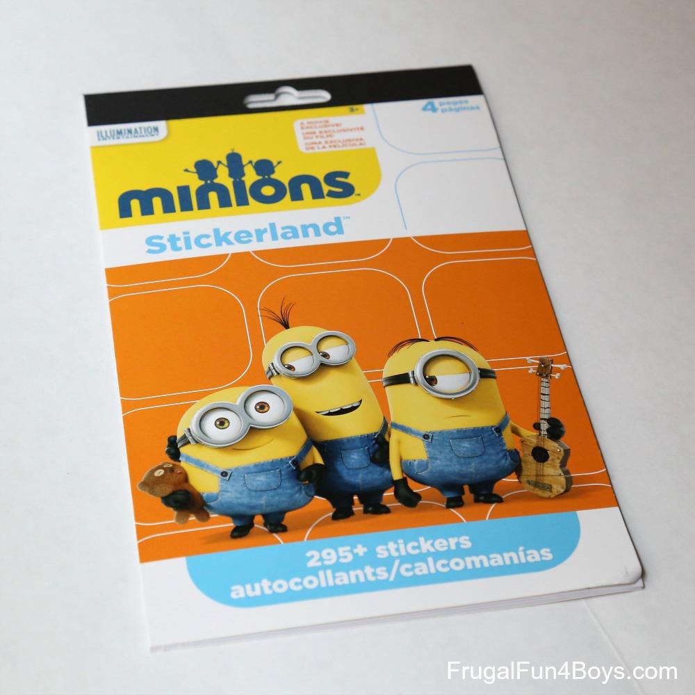 Easy DIY Minions Memory Game