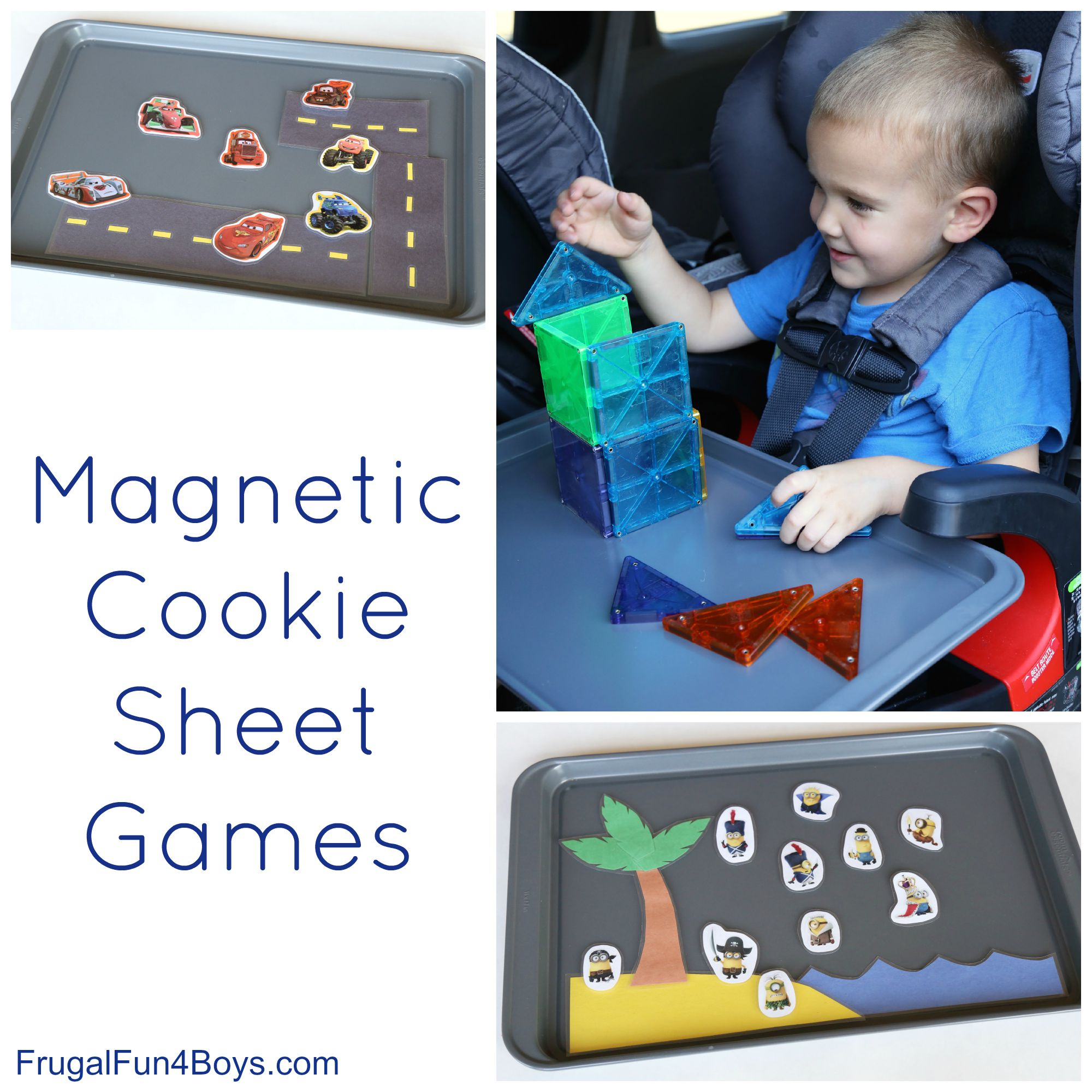 Magnetic Cookie Sheet Games