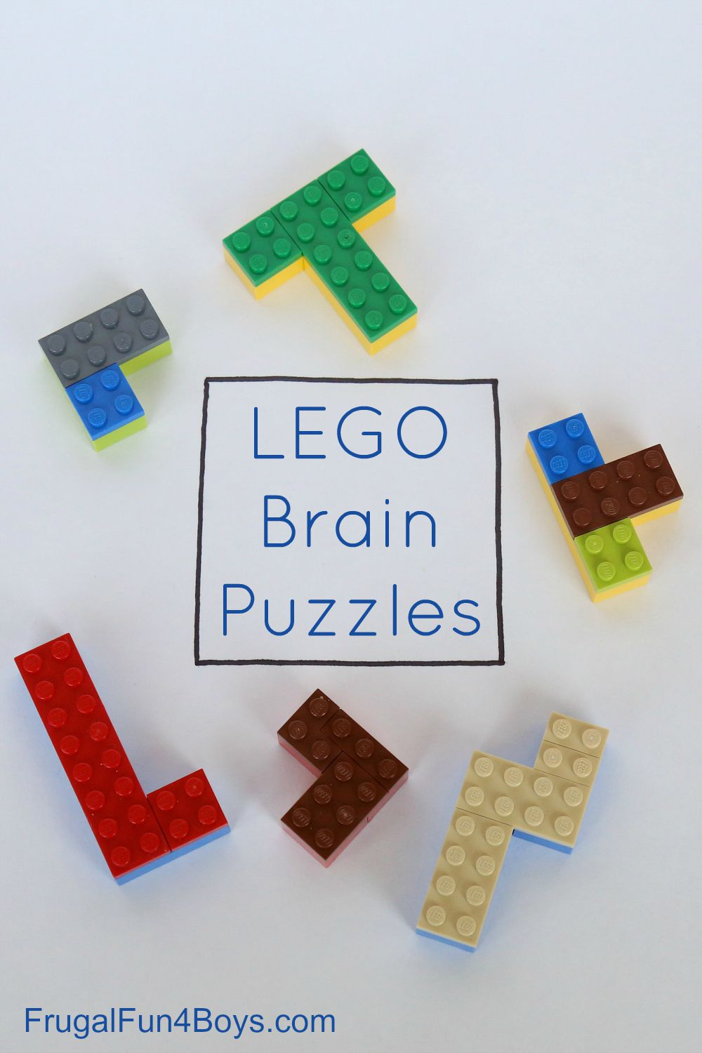 LEGO Brain Puzzles - Building Challenge for Kids
