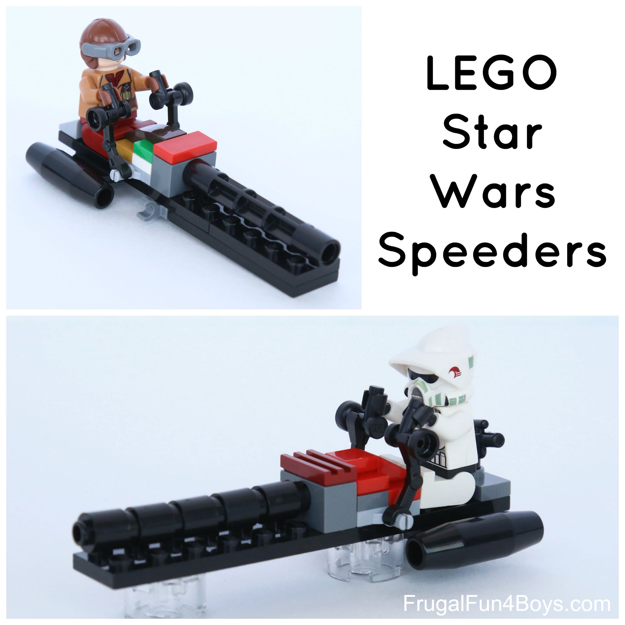 How to Build LEGO Star Wars Speeders