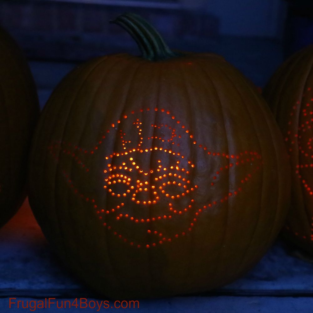 How to Make Awesome Star Wars Pumpkins