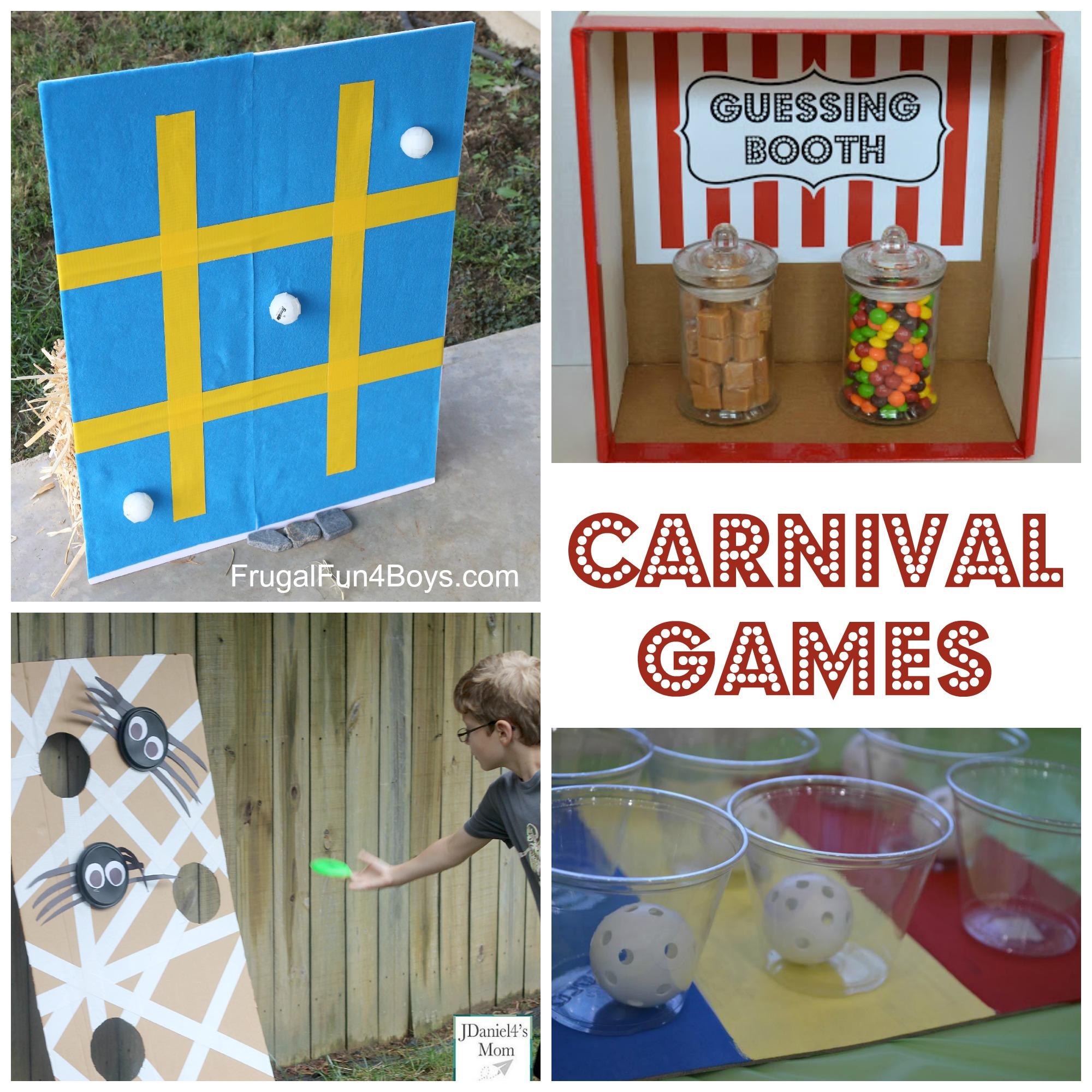 25+ Carnival Games for Kids