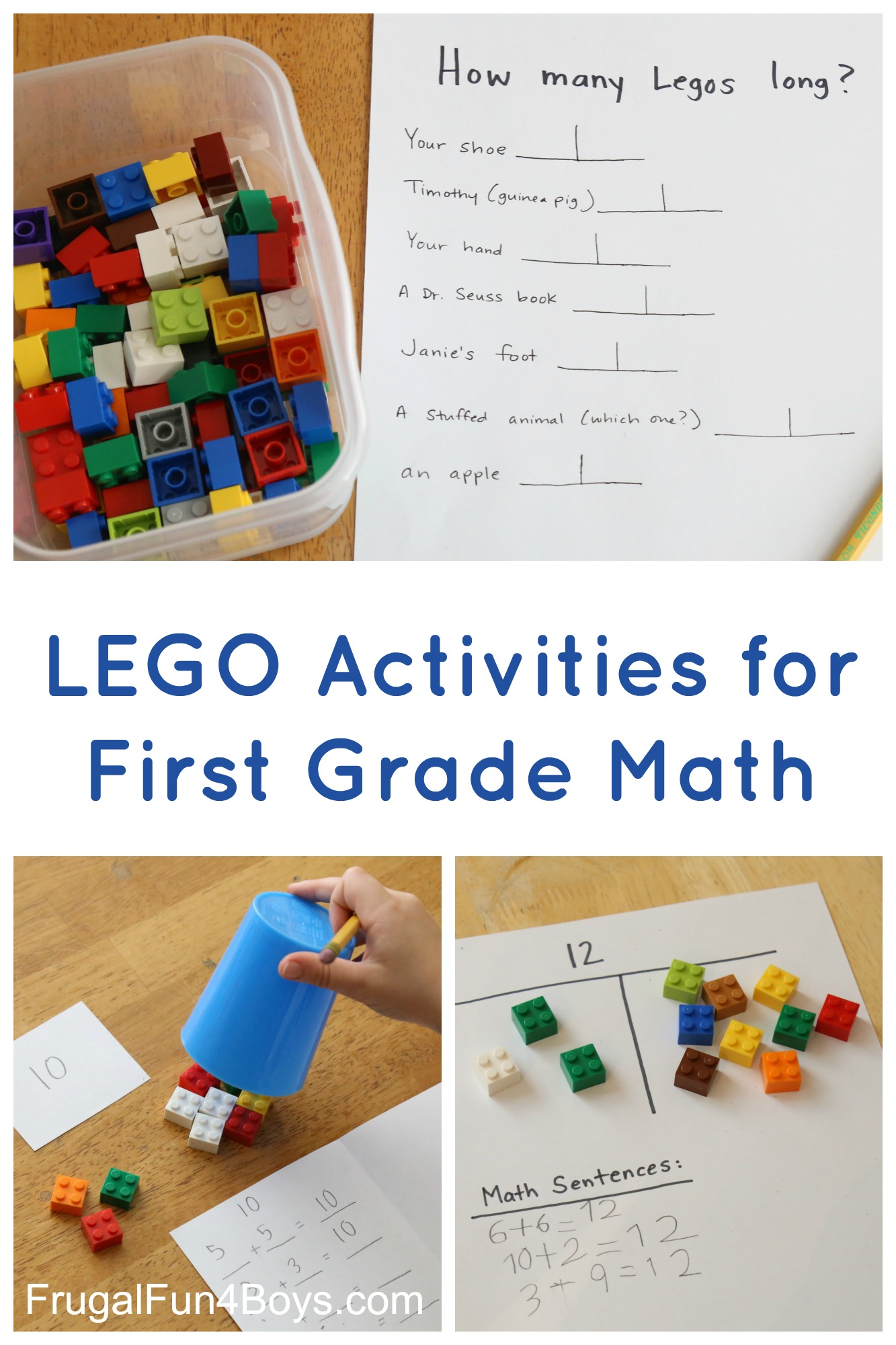 - LEGO Activities For First Grade Math - Frugal Fun For Boys And Girls