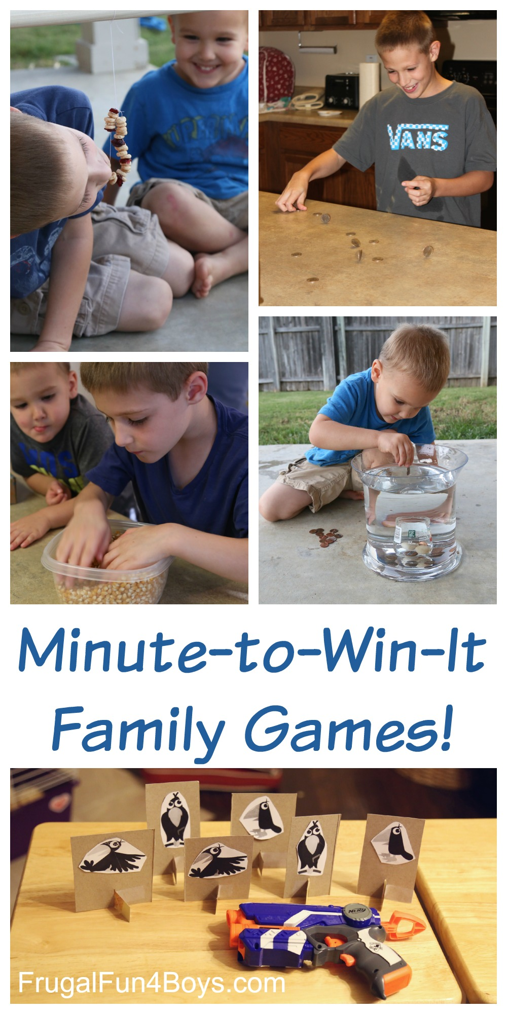 Minute-to-Win-It Family Game Challenges - Game Night Ideas that the Whole Family Will Enjoy