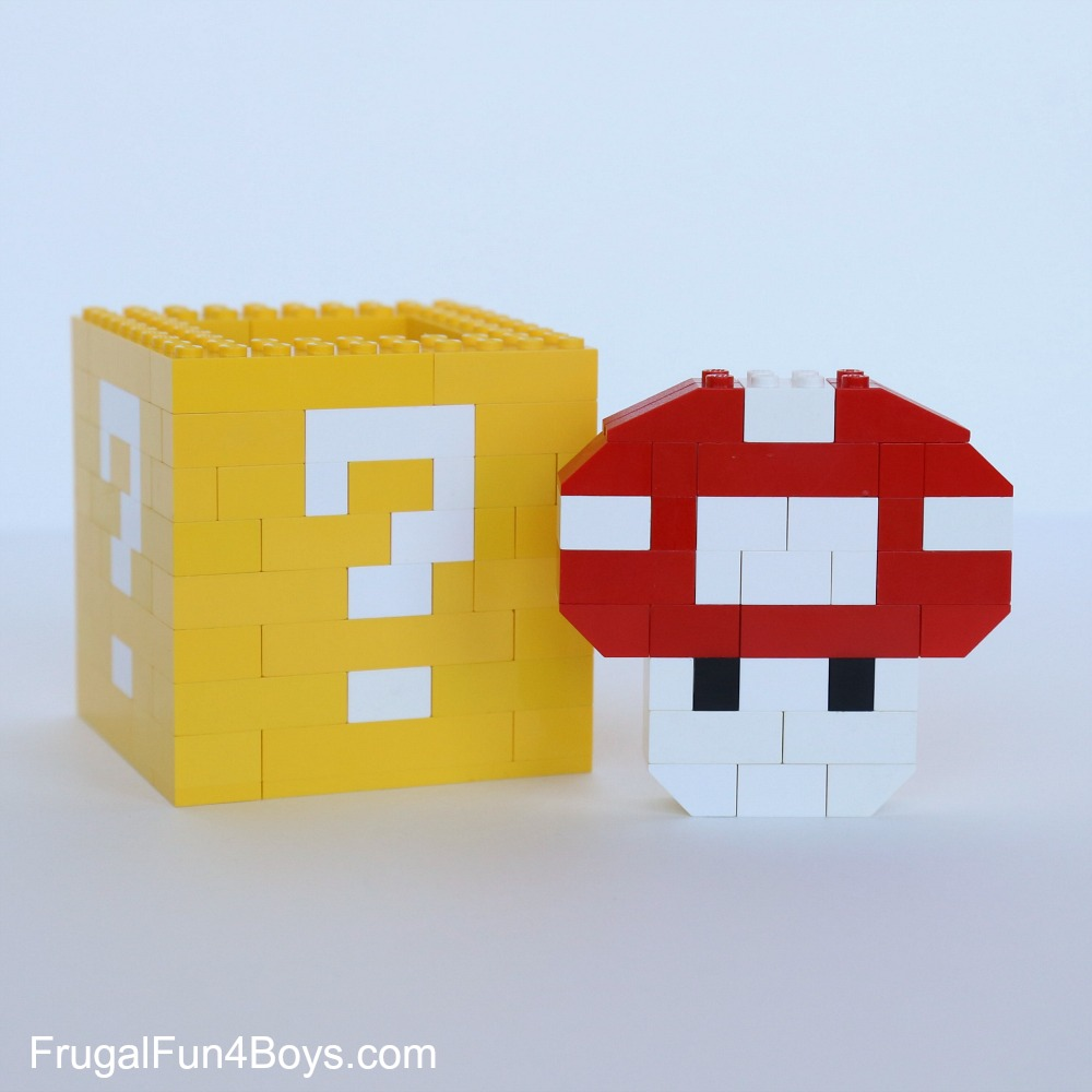 Mario LEGO Projects to Build