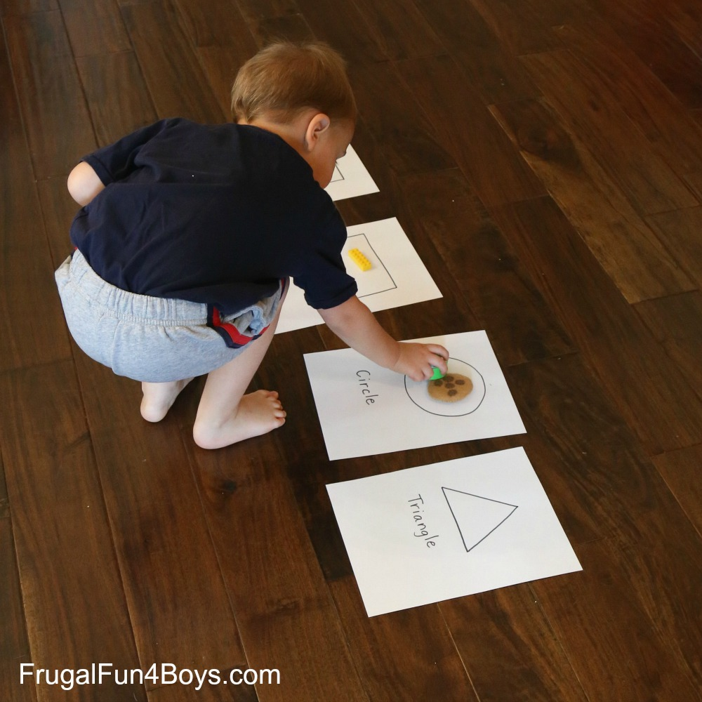 Preschool Shape Hunt