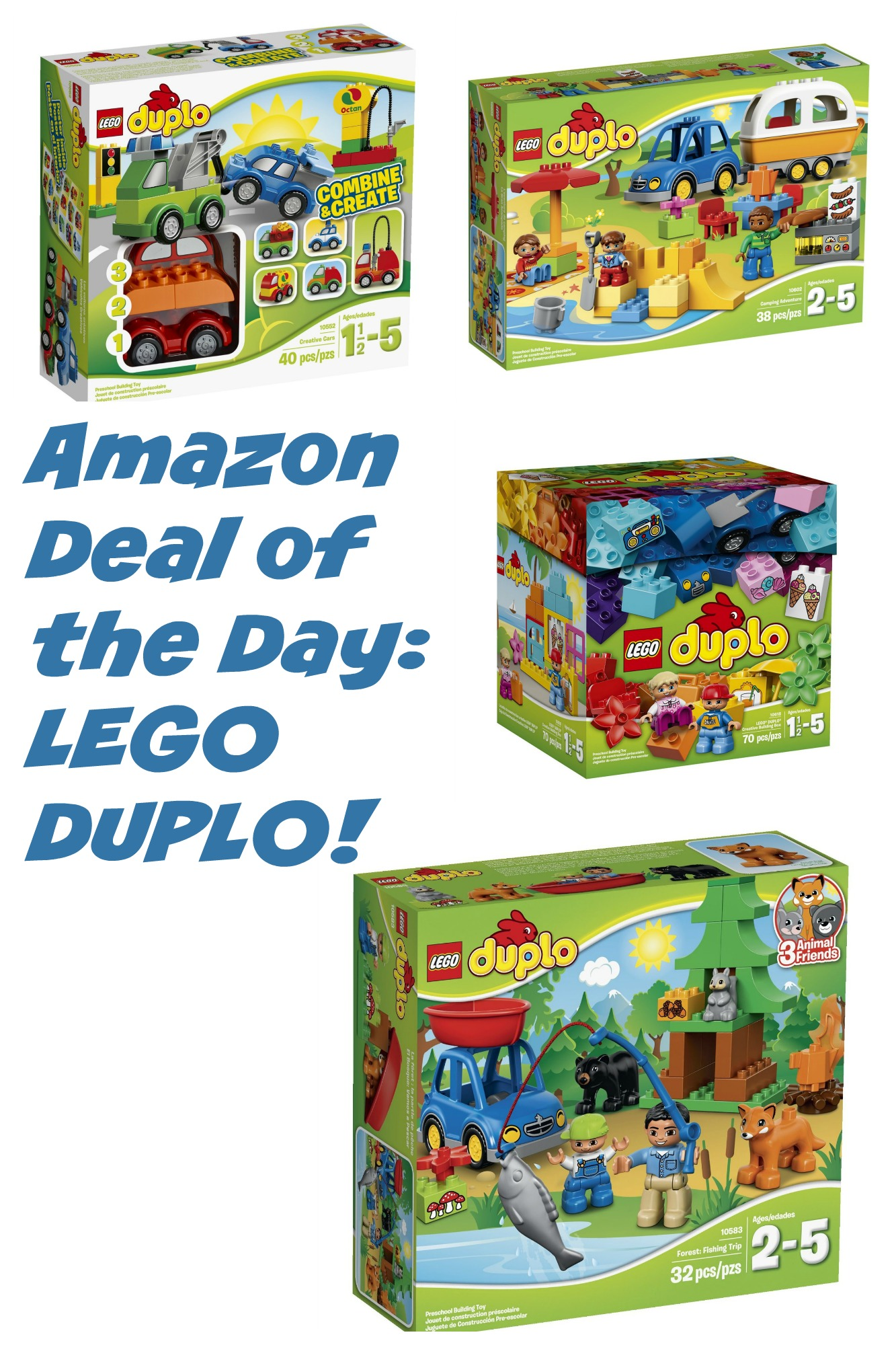 Amazon Deal of the Day: Up to 25% Off Select LEGO DUPLO!