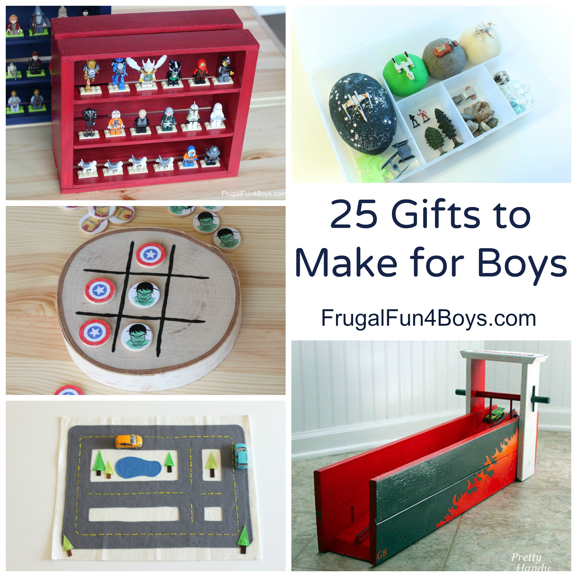 25 Gifts to Make for Boys - Homemade Gift Ideas that Boys will Go for!