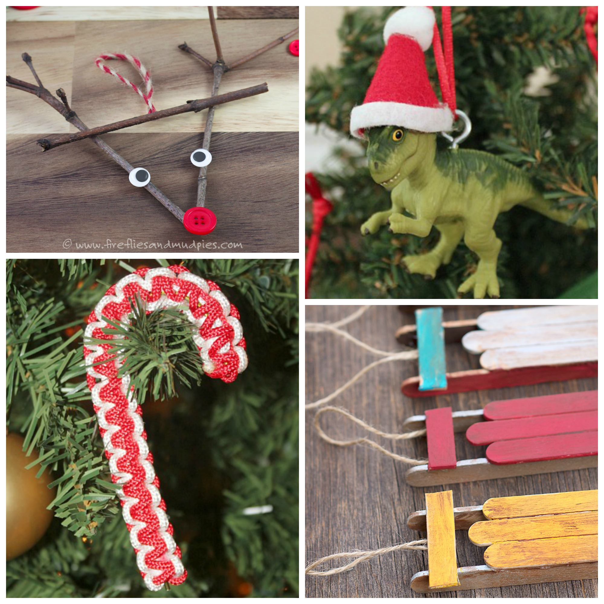 Boy Approved Christmas Ornaments to Make