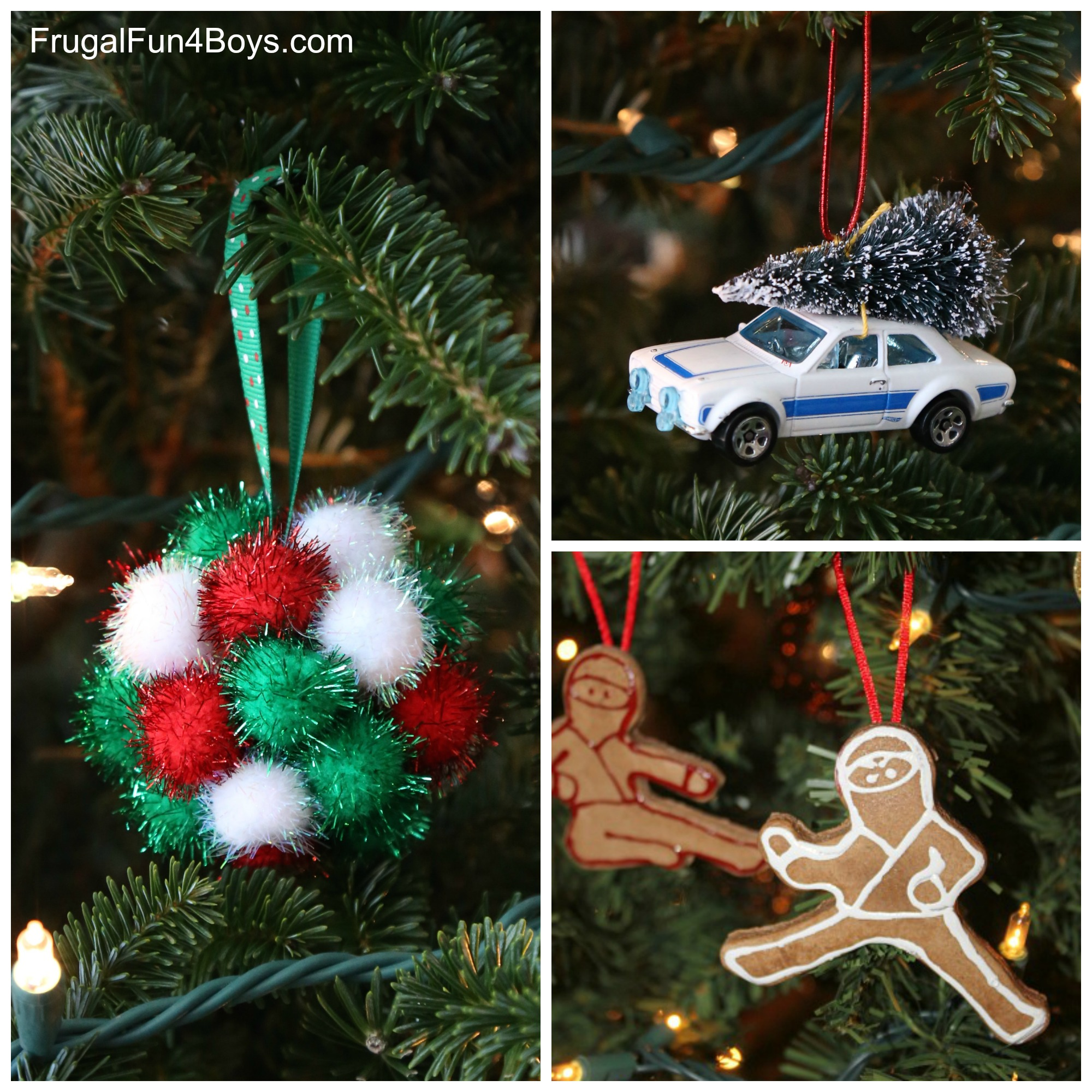 25 Boy-Approved Christmas Ornaments to Make