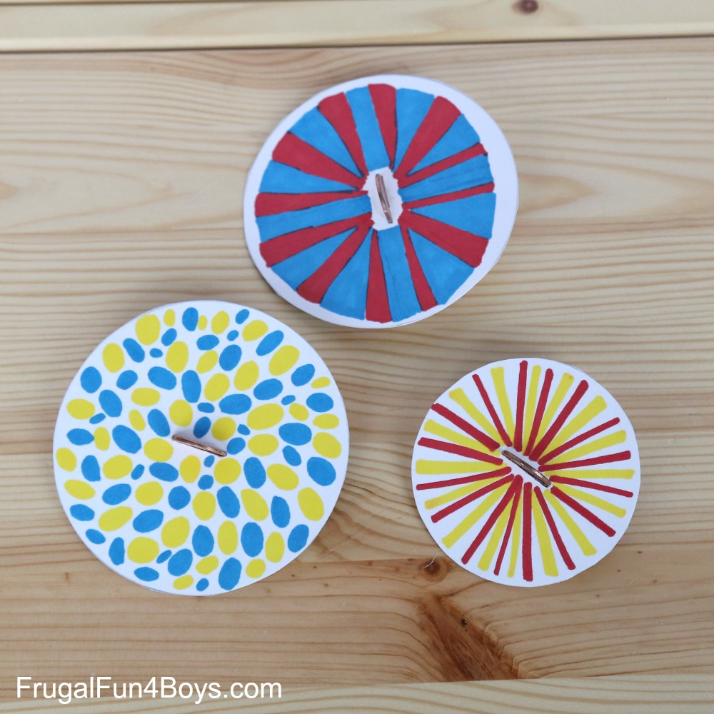 Penny Spinners: Toy Tops that Kids Can Make!