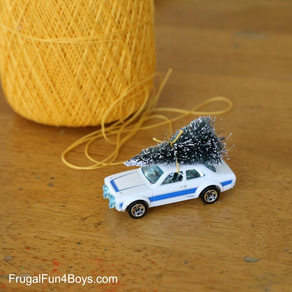 Hot Wheels Car Christmas Tree Ornament