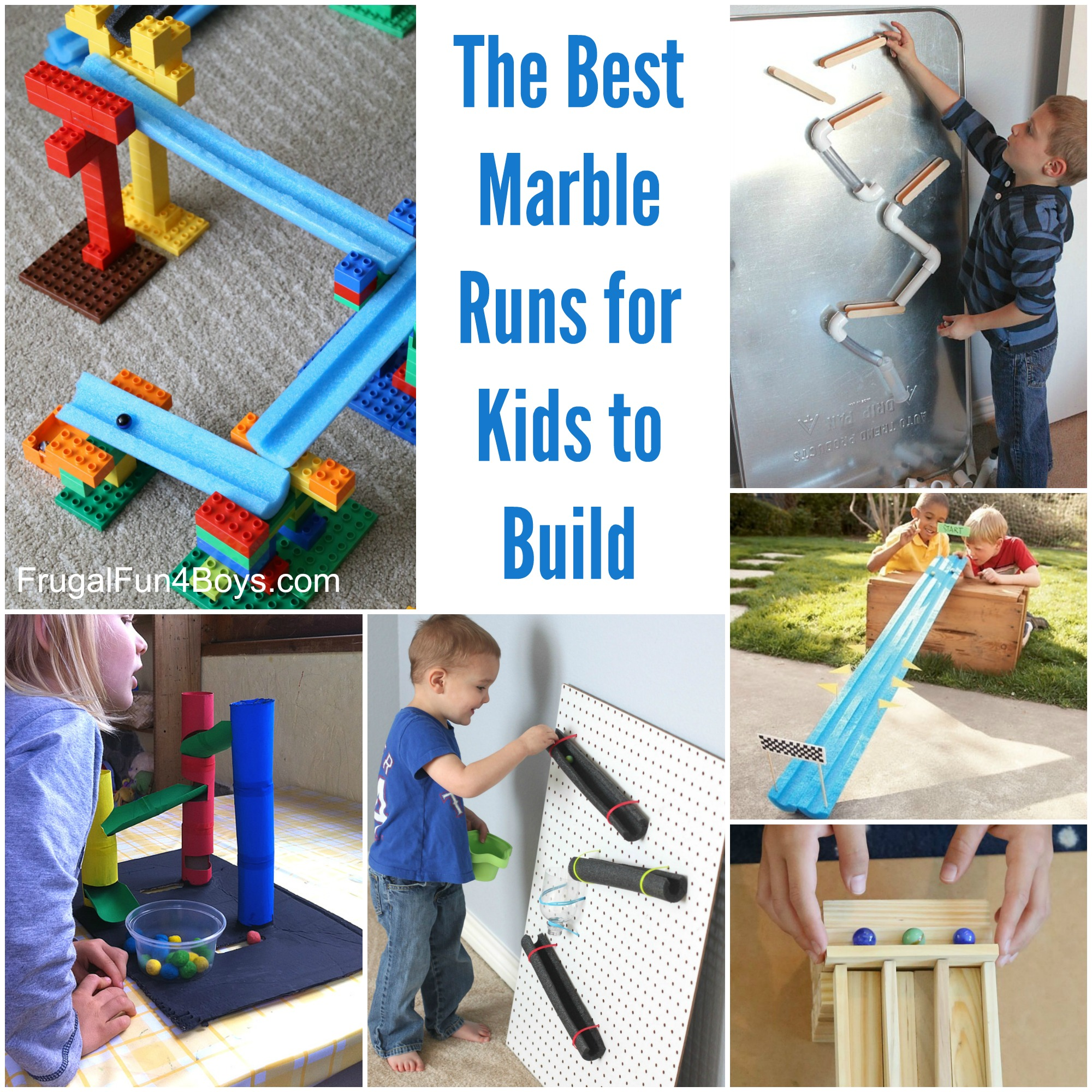 The BEST Marble Runs for Kids to Build