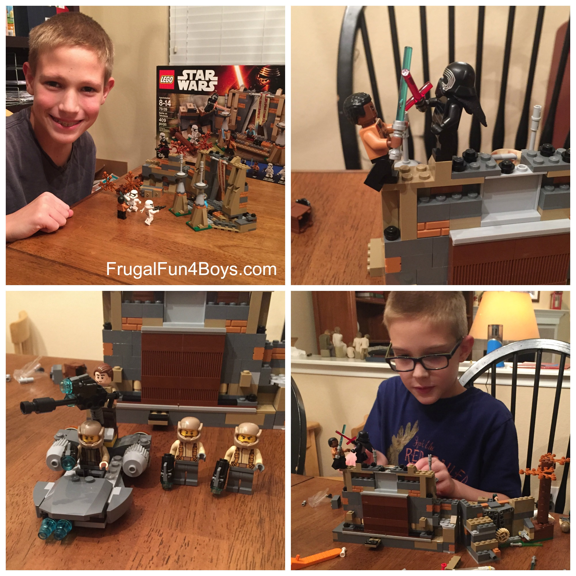 New LEGO Star Wars sets for The Force Awakens