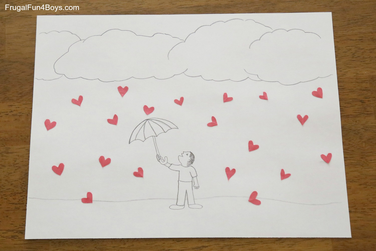 Hearts in Unusual Places - A Drawing Challenge for Kids