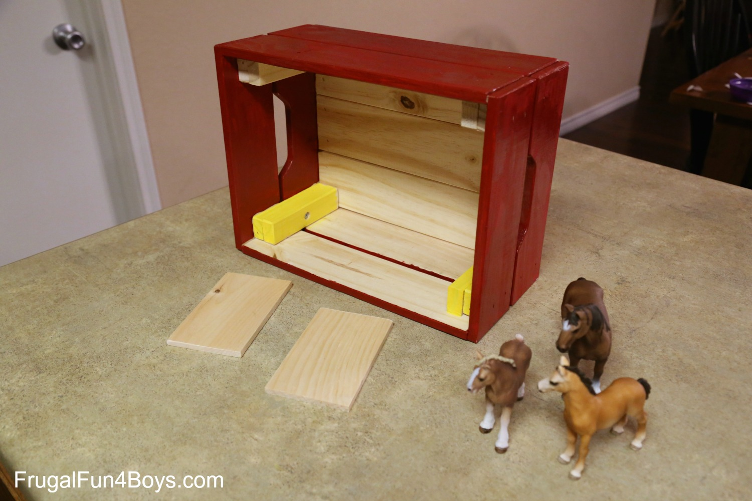 IKEA Crate Horse Stable