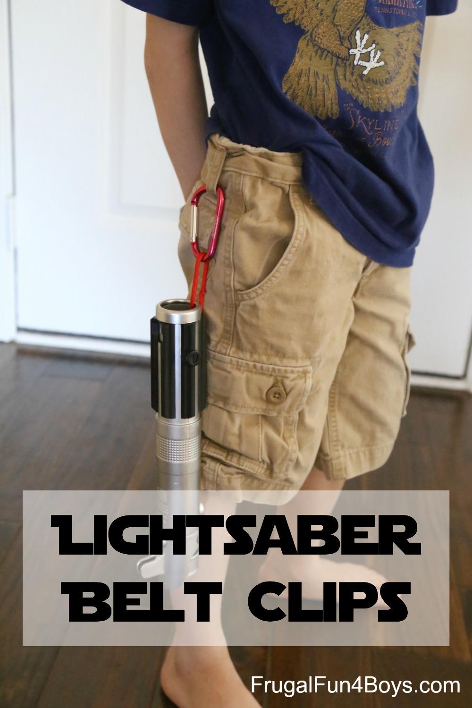 How to Make Lightsaber Belt Clips