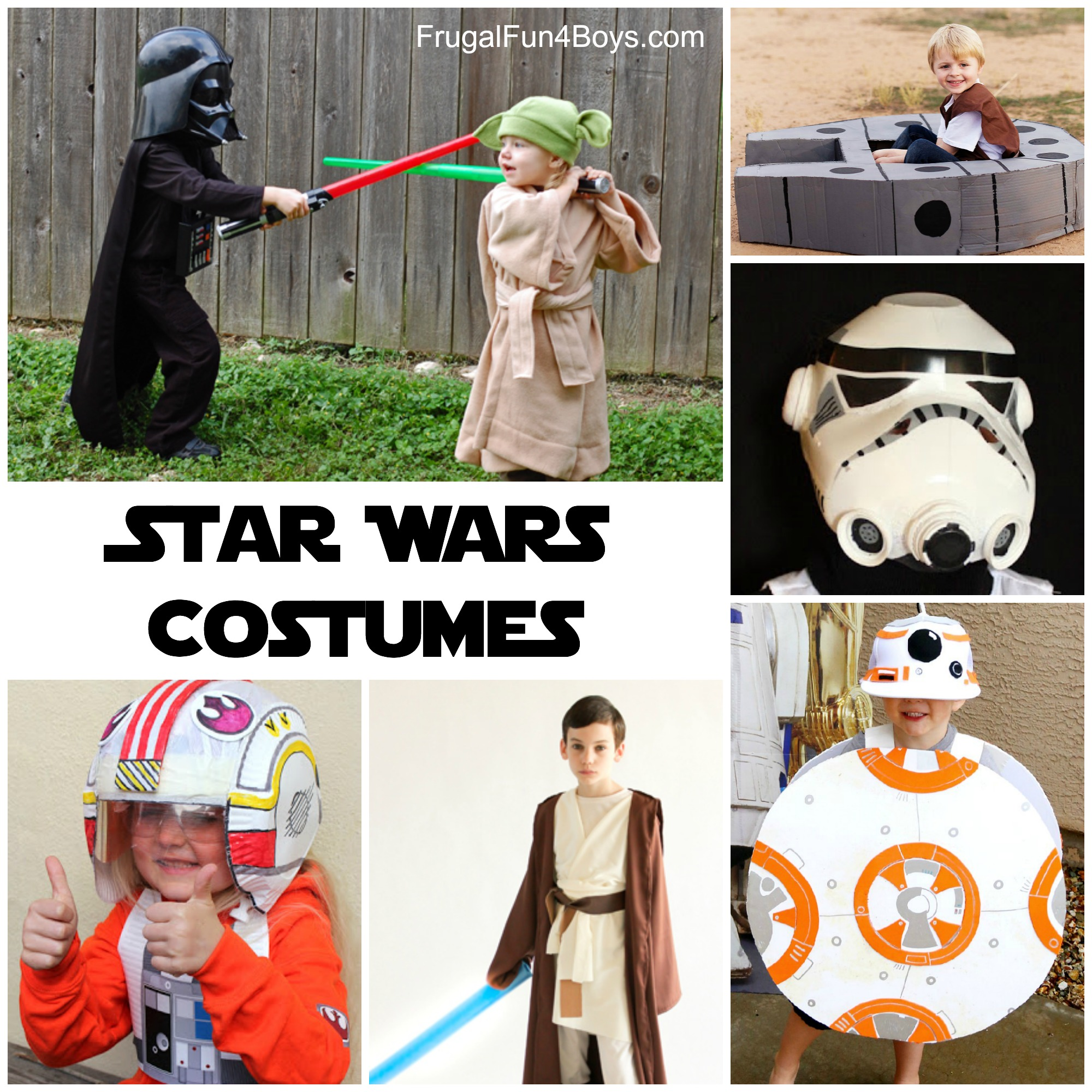 The BEST Star Wars Costumes to Make for Kids - Perfect for Pretend Play