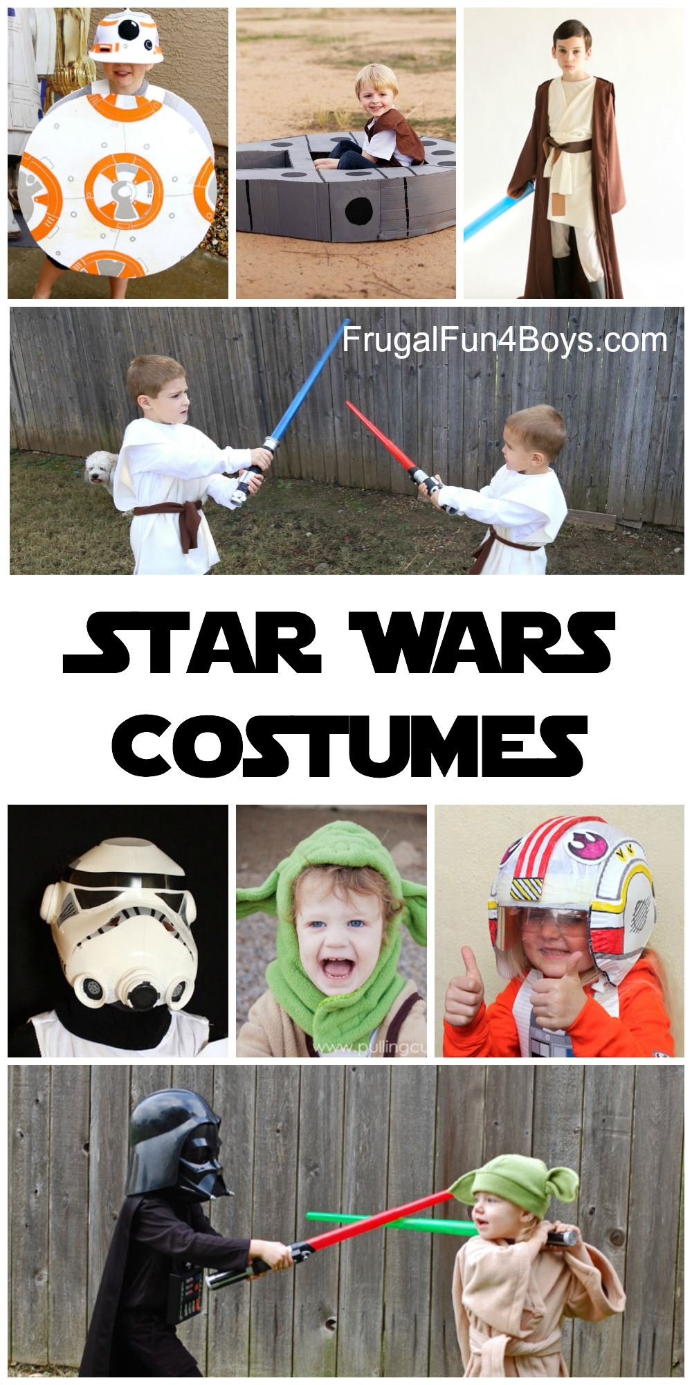 The BEST Star Wars Costumes to Make for Kids - Perfect for Dress-up and Pretend Play