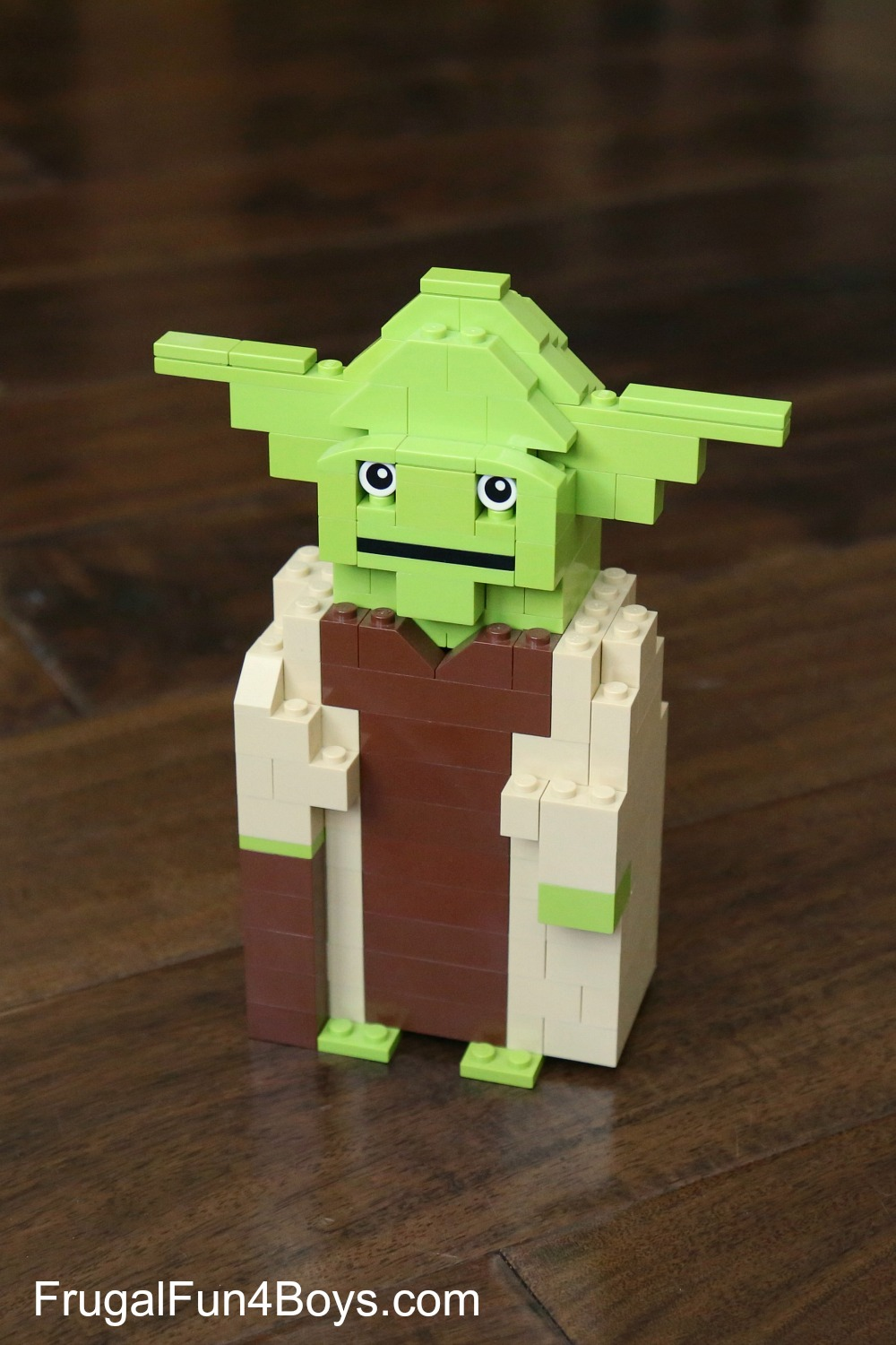 LEGO Yoda Building Instructions
