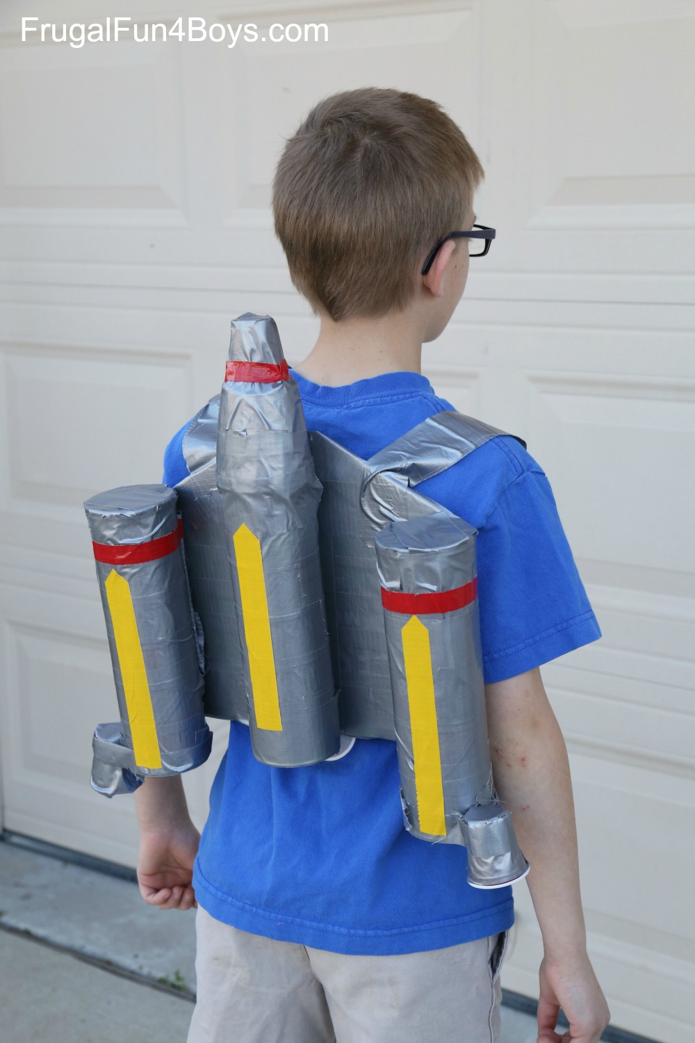 Duct Tape Star Wars Jetpack