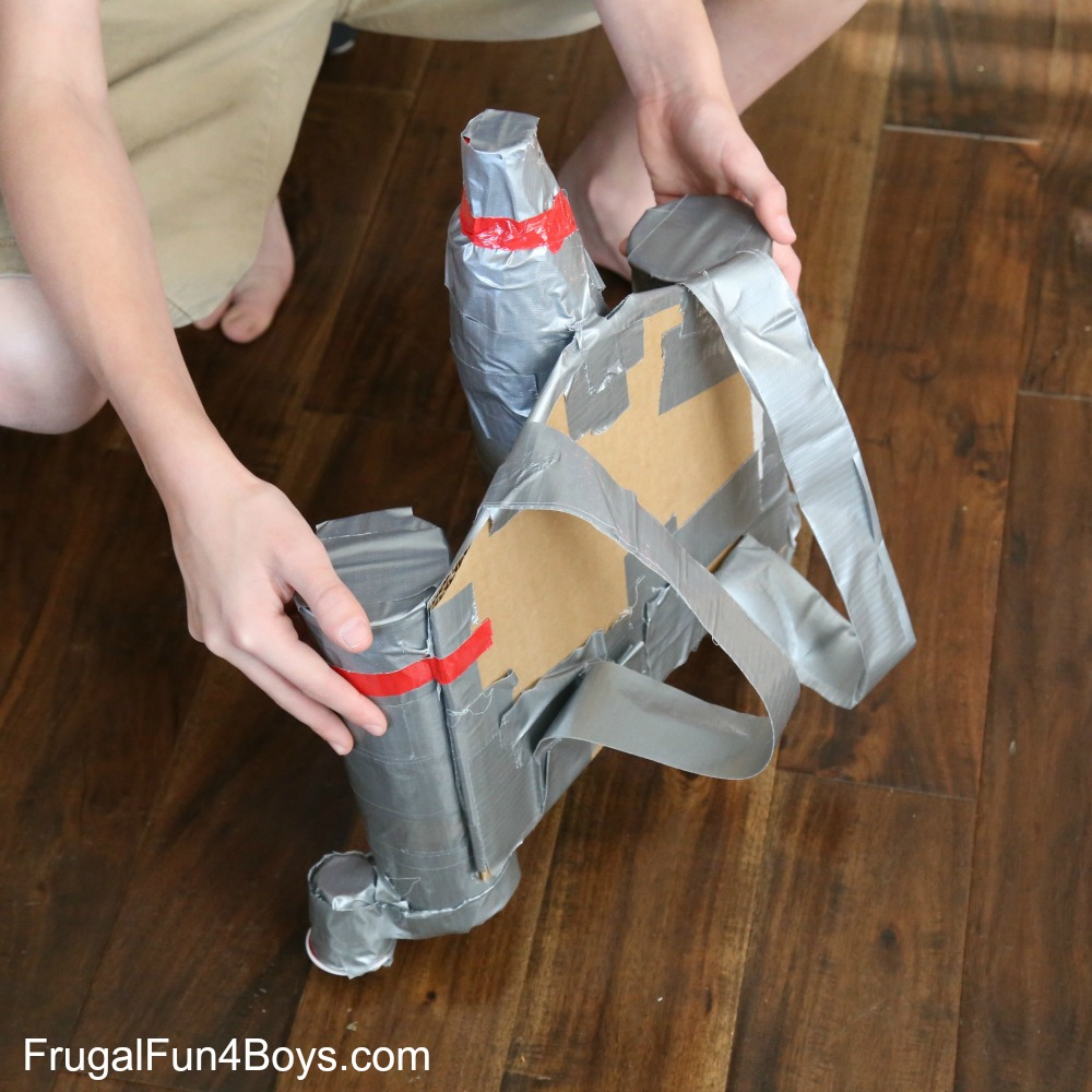 How to Make a Duct Tape Star Wars Jetpack