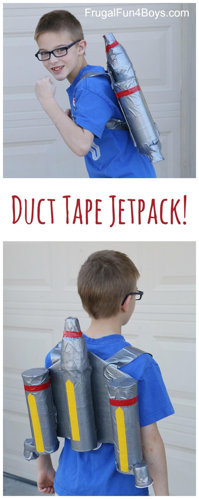 Make a Duct Tape Star Wars Jetpack