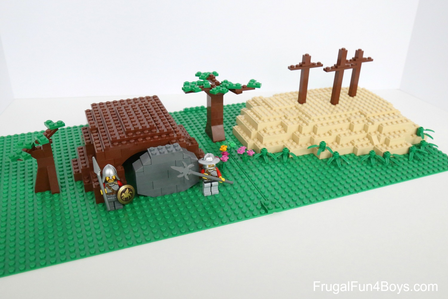 LEGO Resurrection Garden