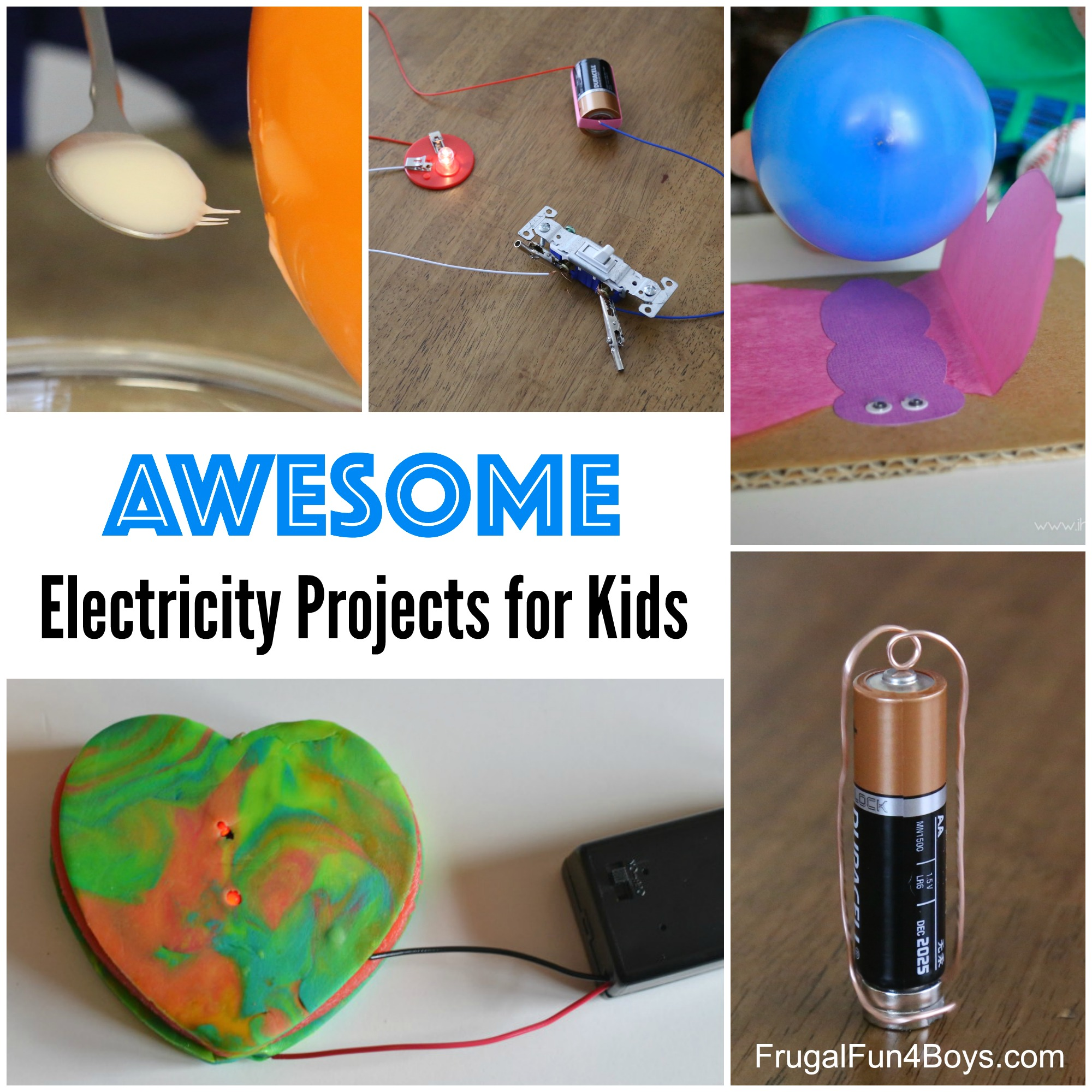 Awesome Electricity Projects for Kids