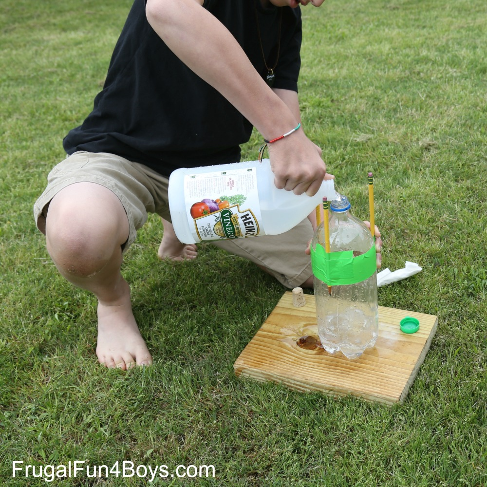EPIC Bottle Rocket!