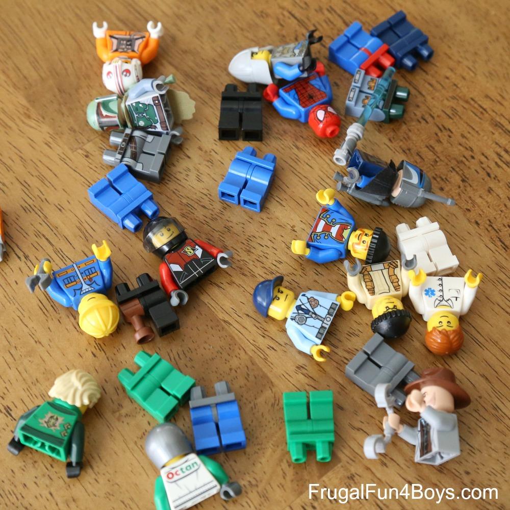 LEGO Minifigure Memory Game