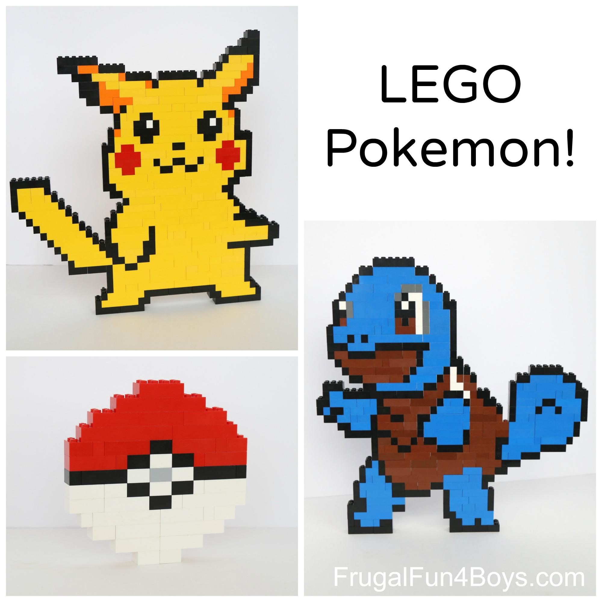 LEGO Pokemon Projects