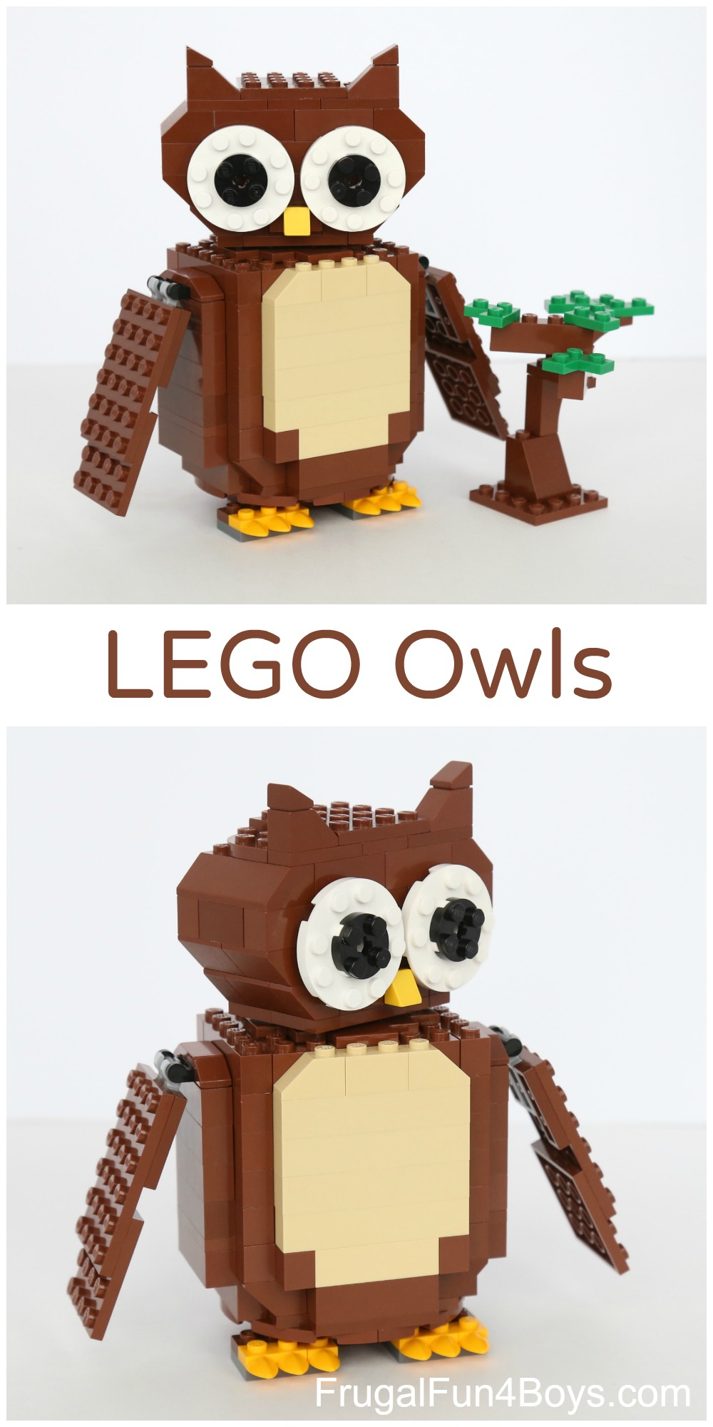 LEGO Owls Building Instructions