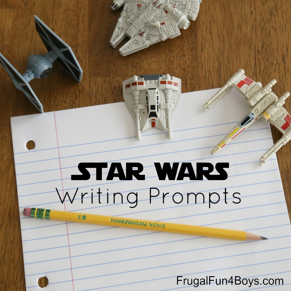 Star Wars Printable Writing Prompts
