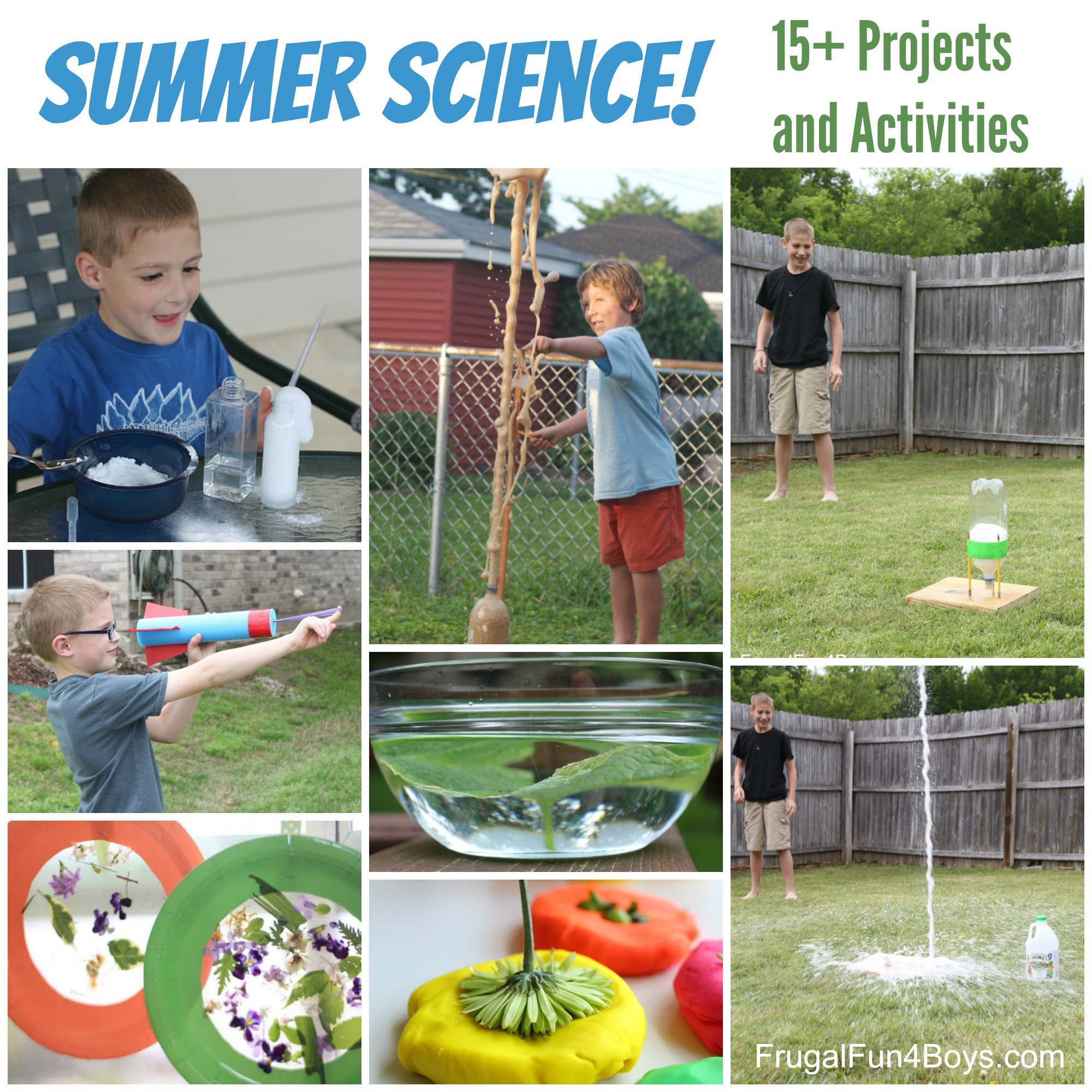 Summer Science! 15+ Experiments and Projects for Kids