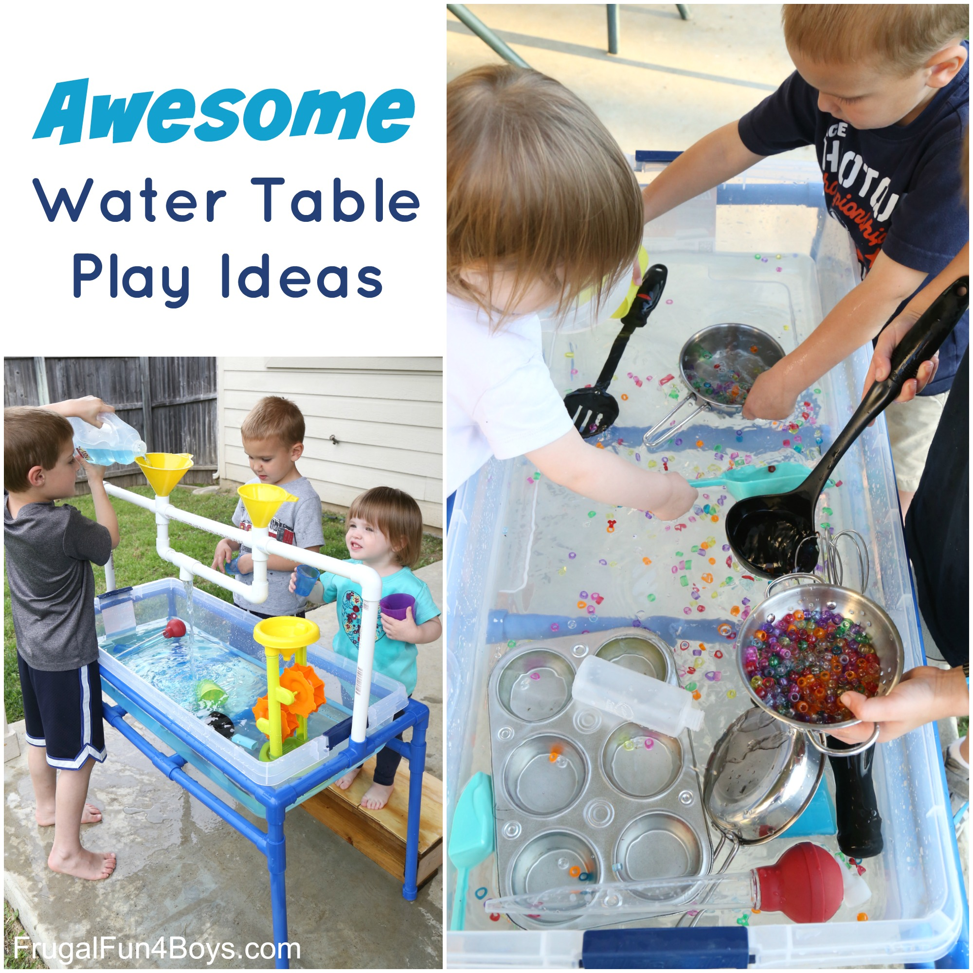 Awesome Water Table Play Ideas