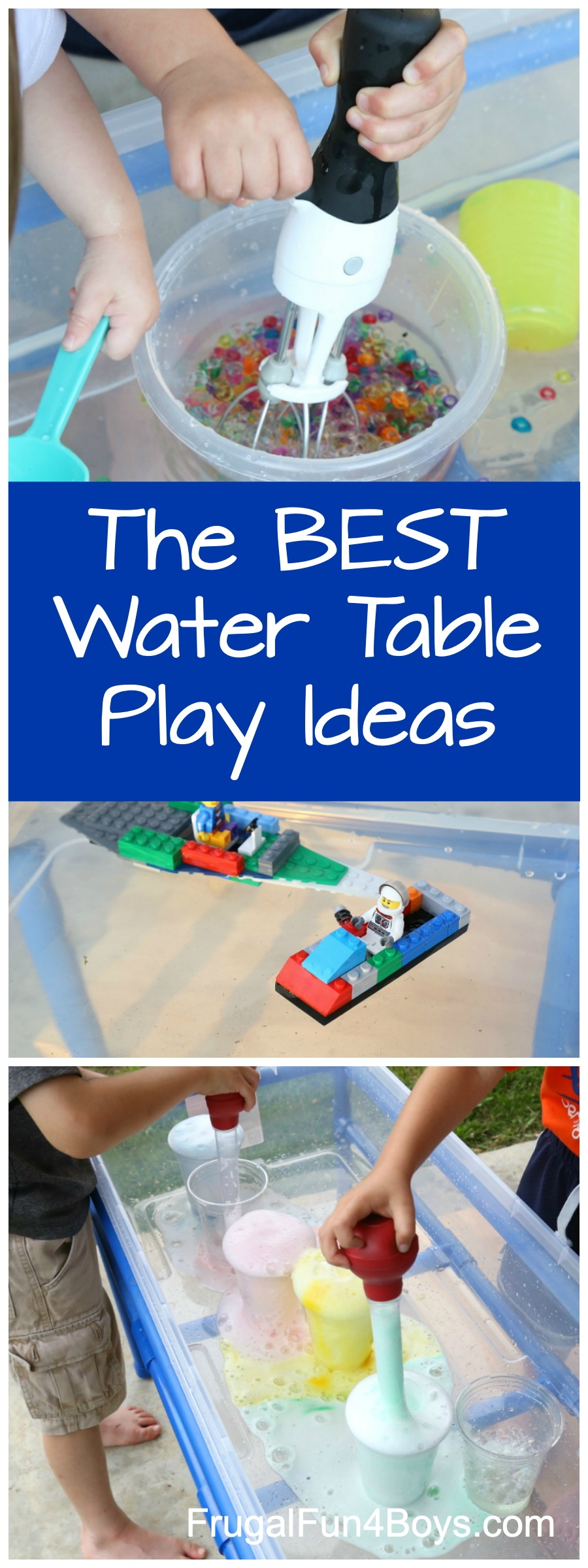 Awesome Water Table Play Ideas Frugal Fun For Boys And Girls
