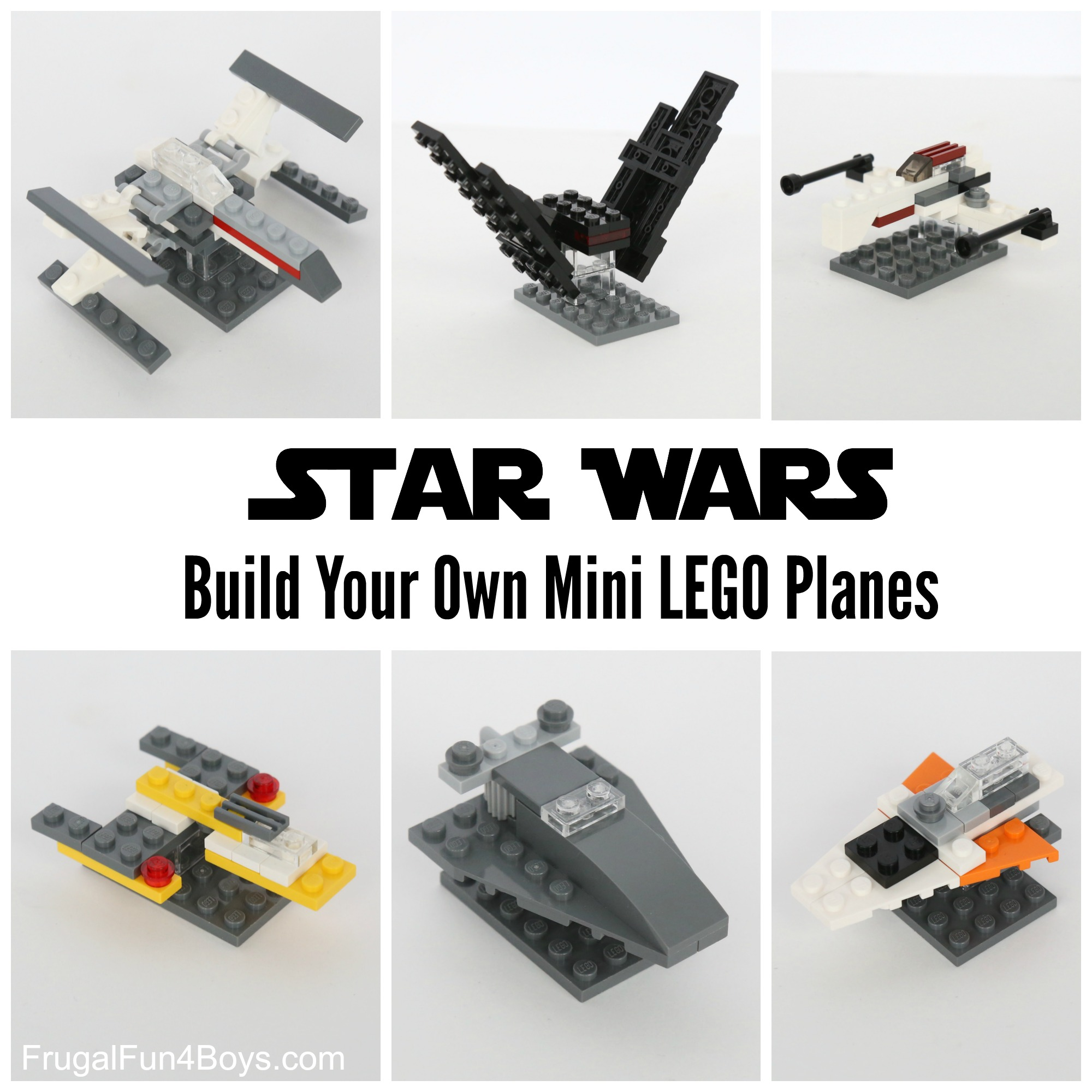 LEGO Mini Star Wars Ships