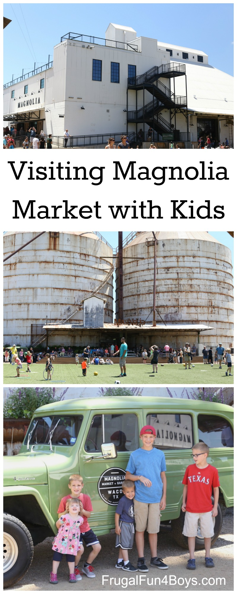 Visiting Magnolia Market with Kids