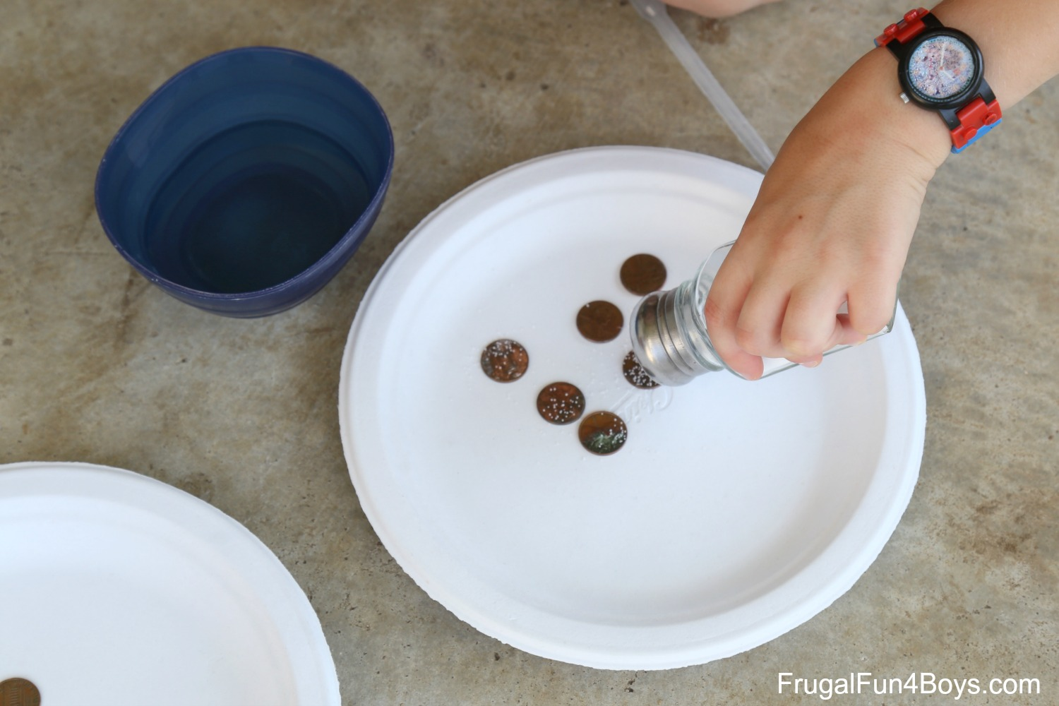 Science for Kids: Make Old Pennies Shiny Again!