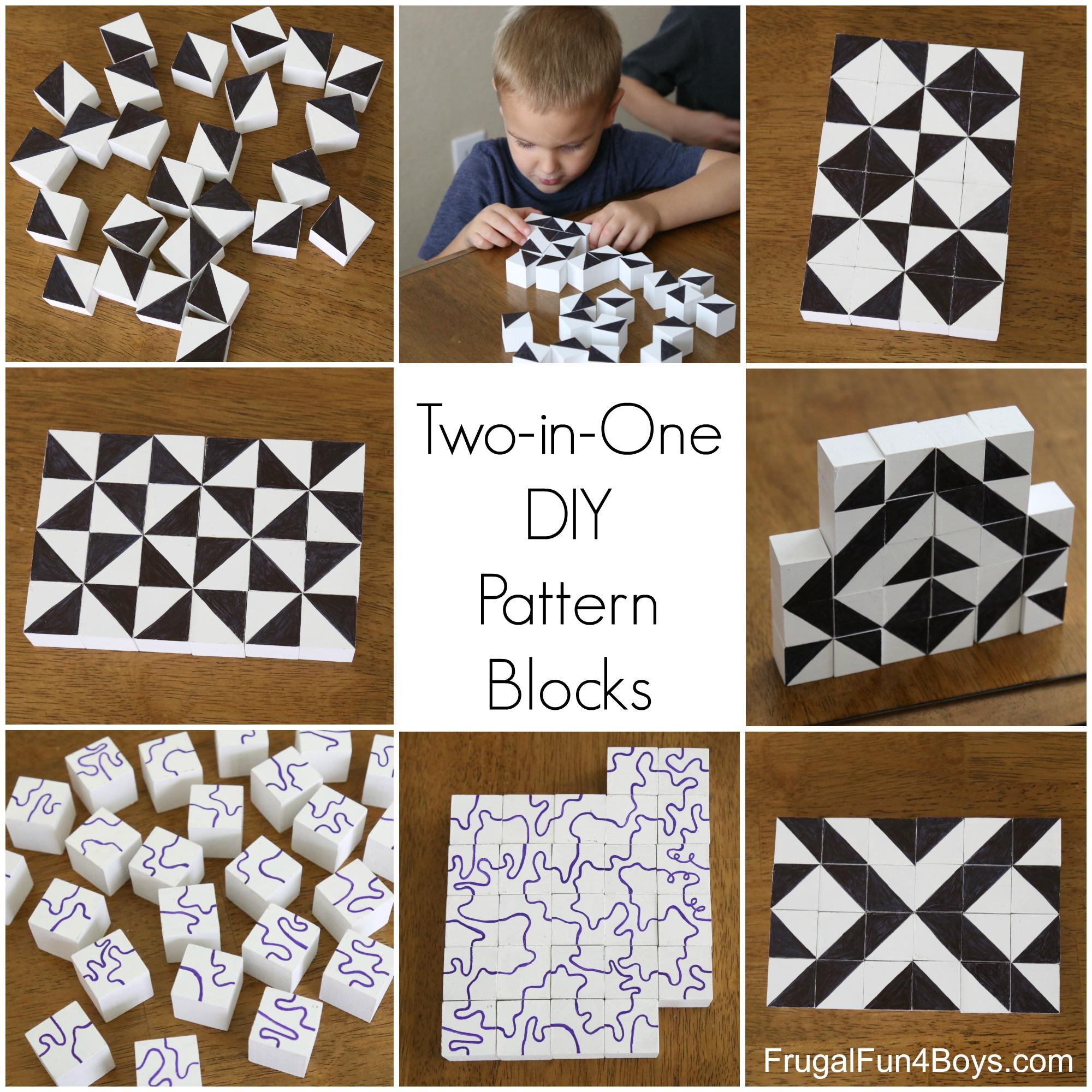 Two-in-One DIY Pattern Building Blocks