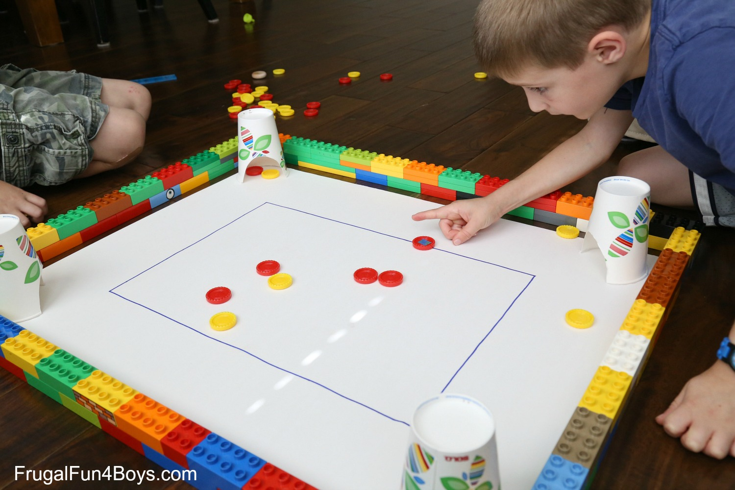 DIY Carrom Game for Kids