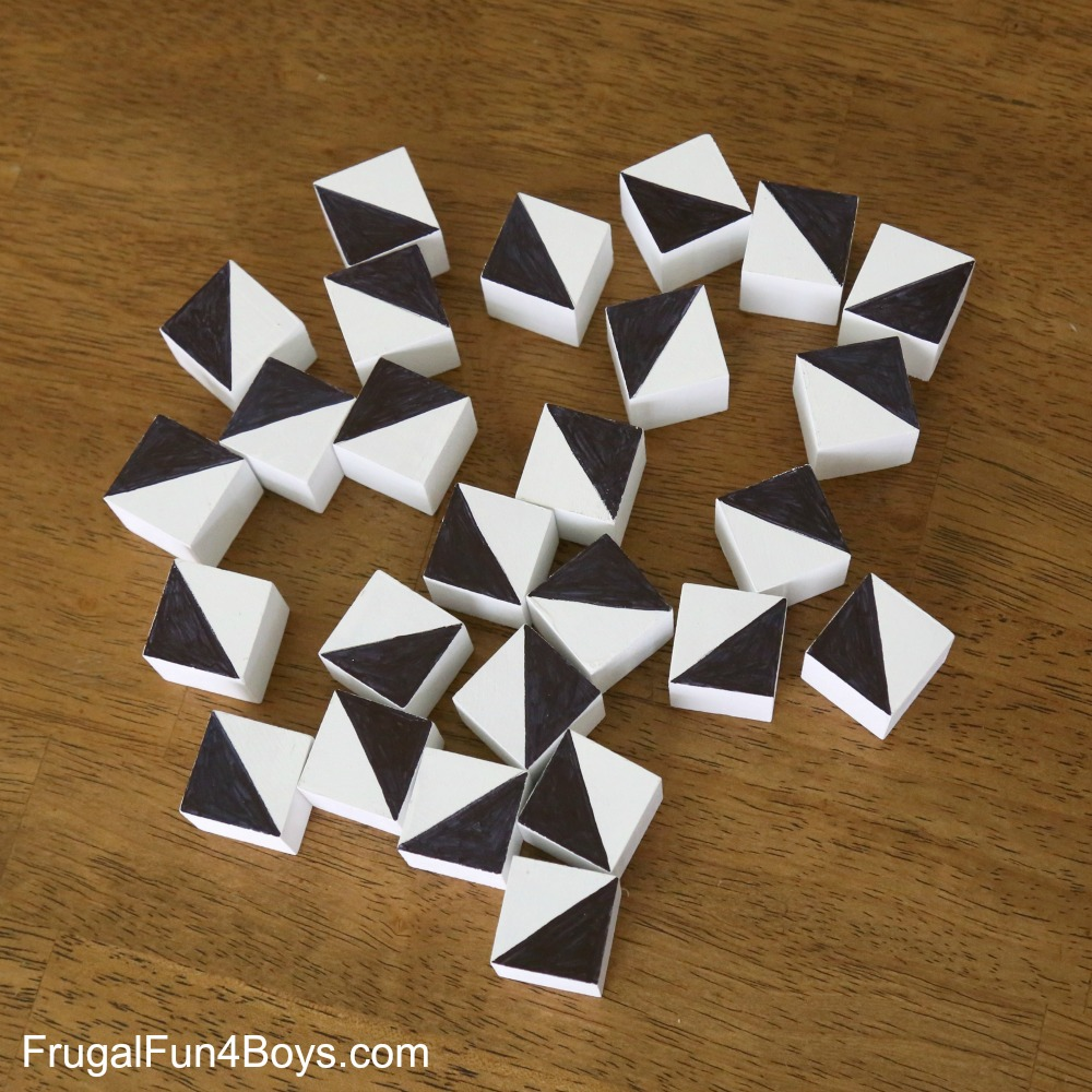 DIY Pattern Blocks
