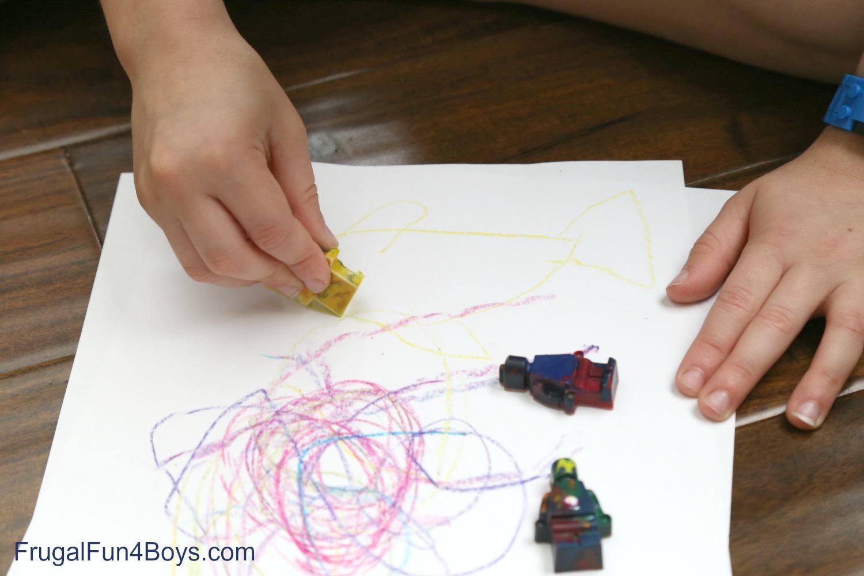 Recycle Broken Crayons into LEGO Crayons!