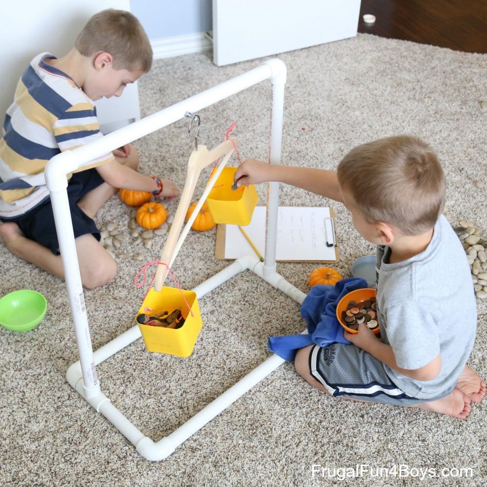 Fall Math for Kids: How Heavy is a Pumpkin?