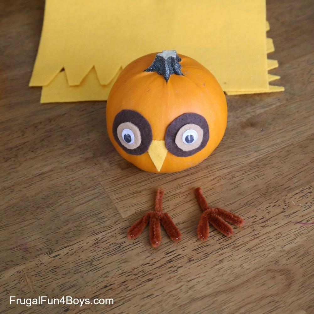 Woodland Animals Pumpkins