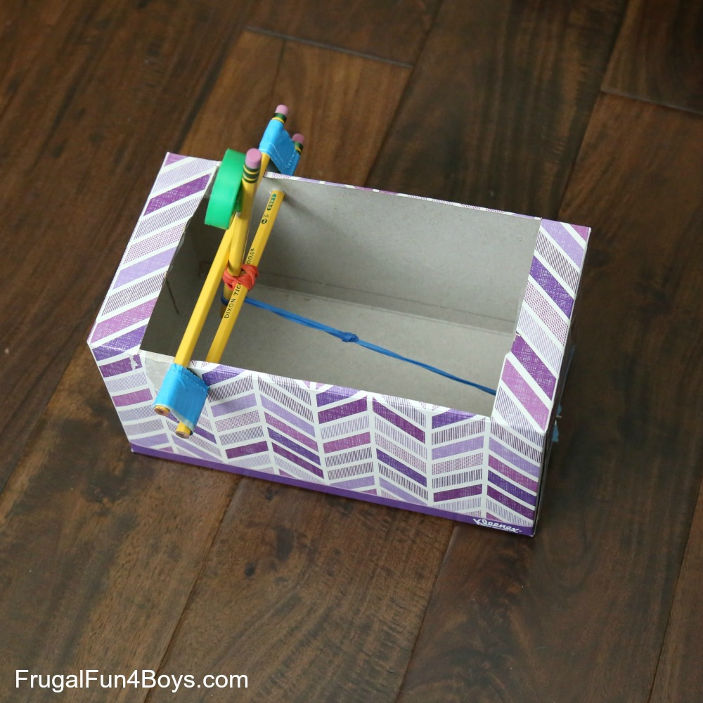 Tissue Box Catapult